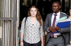 Zimbabwe court dismisses case of U.S. woman charged with insulting Mugabe