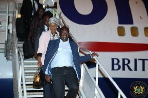 Smiling Bawumia arrives to presidential ceremony