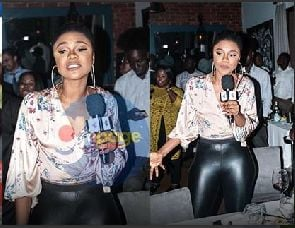 Becca bleaches to the extreme and Ghanaians can't think far