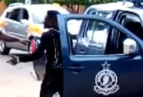 Shatta Wale in war of words with policeman