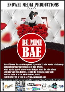 BE MINE BEA HAS BEEN LAUNCHED!
