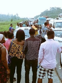 'Sarkodie didn't check on the victims after causing the accident' – Eyewitness alleges