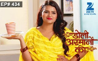 Doli Armaano Ki Episode 411–412 Update on Wednesday 9th May 2018 –  Ishaani neglects Urmi at her function and Damini feels good