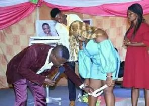 Lady whose panty was removed in church breaks silence