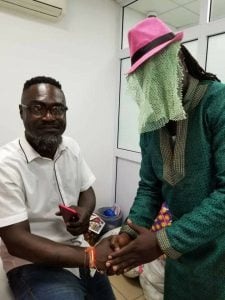 See what happened when Countryman Songo met Anas Aremeyaw Anas (photos)