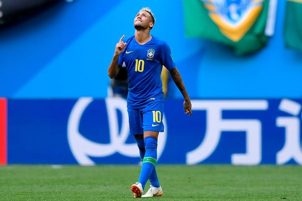 Brazil 2-0 Costa Rica REPORT: Coutinho and Neymar net injury-time double to land World Cup win in St Petersburg