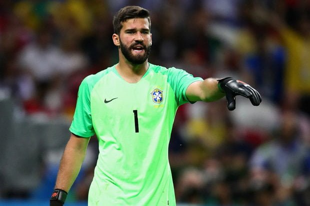 Alisson: Liverpool complete £65m world-record transfer of Roma goalkeeper