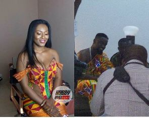 Photos from Sarkodie and Tracy's traditional wedding