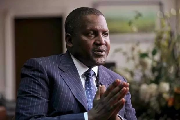 Dangote hints at willingness to date?