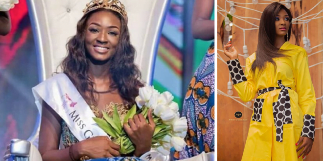 """""""I'm No Longer Interested In The Crown""""–Miss Ghana 2017 Winner, Margaret Dery Resigns Days After Lashing The Organisers On Twitter"""