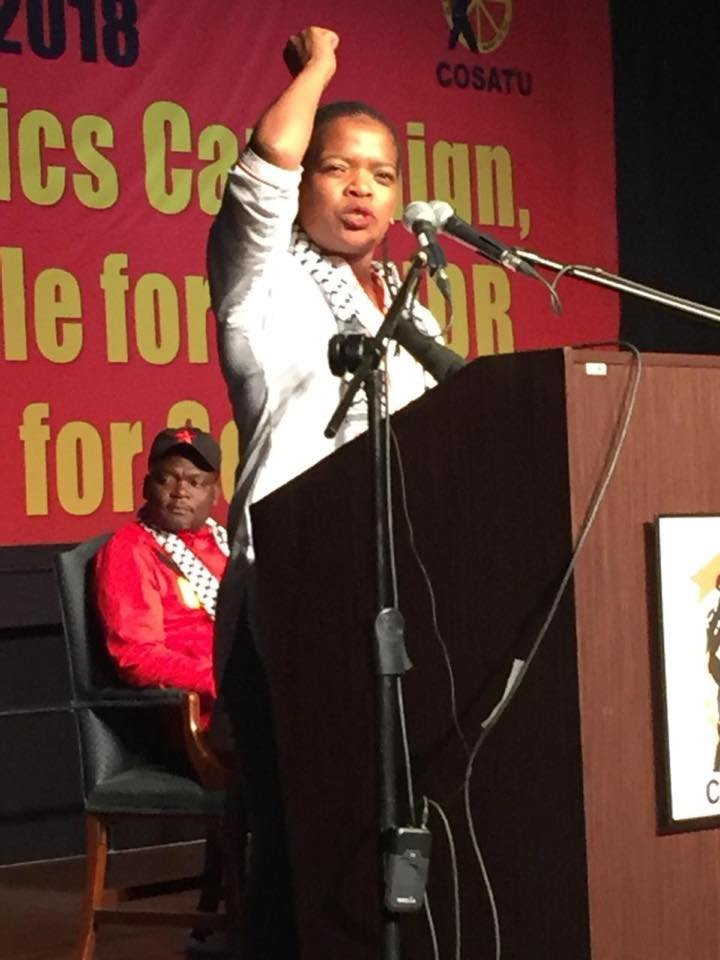 New COSATU president urges SA government to downgrade relations with Israel