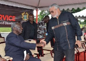 Ex-President Kufuor is a 'hypocrite, wicked creature' – Rawlings throws shades