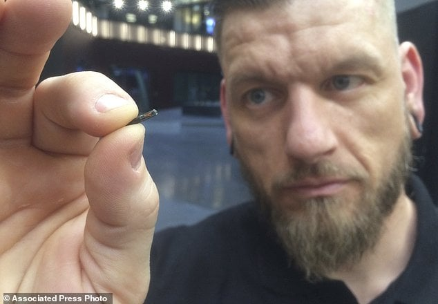 Thousands of Swedes are getting microchip IDs inserted into their hands to swipe into homes, offices, concerts and even to access social media