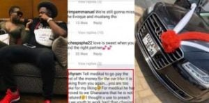 Go and settle the arrears before the car is taken from Fella – Social media user reveals secret behind Fella's car