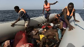 At least 14 dead on refugee boat off Libya – Official