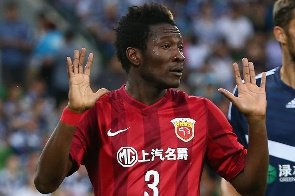 Asamoah Gyan yet to contact family after DNA test