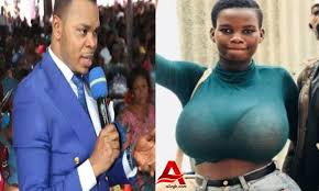 Angel Obinim delivers Pamela Odame from 'spirits of dwarfs'