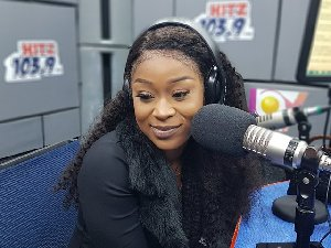Efia Odo finds new love, promises to spoil the man