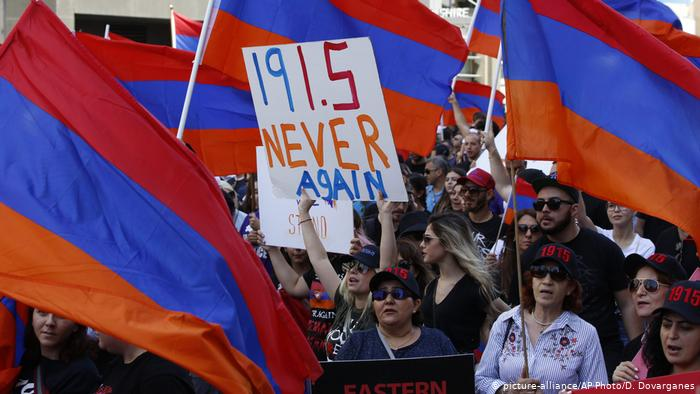 US lawmakers recognize killing of Armenians as genocide