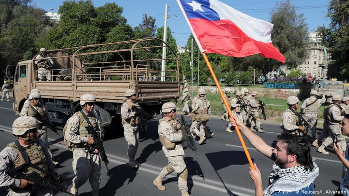 Chile protests: Curfew extended as death toll rises