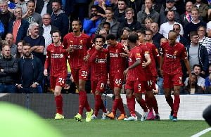 Liverpool restore six-point lead with win over Tottenham