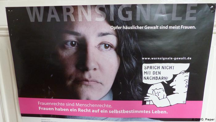 Escaping domestic violence in Germany