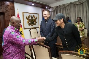 How Ghanaians reacted to Jet Li's visit to Ghana