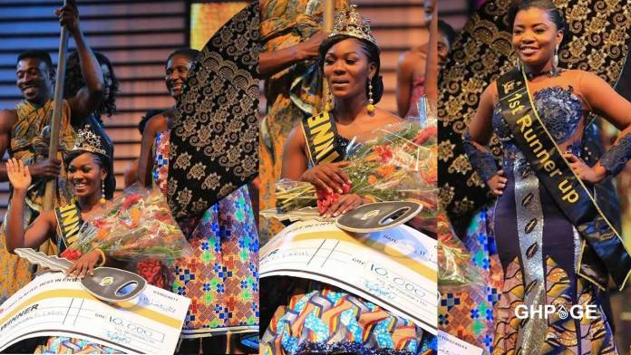 Ekua wins Ghana's Most Beautiful 2019