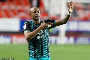 Swansea City manager Steve Cooper hails Andre Ayew after match-winner