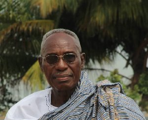 Ghana's finest veteran broadcaster, Cyril Acolatse goes home