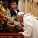 Pope's Christmas Eve message: God loves 'even the worst of us'