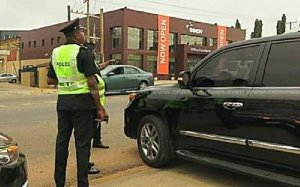 War Against Indiscipline returns: Drivers with fake number plates and stickers busted