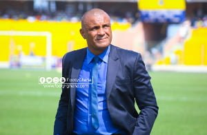Kim Grant prevented us from juju – Hearts team manager Saban Quaye reveals