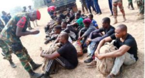 Western Togoland 'military recruits' evacuated from Fievue to Accra