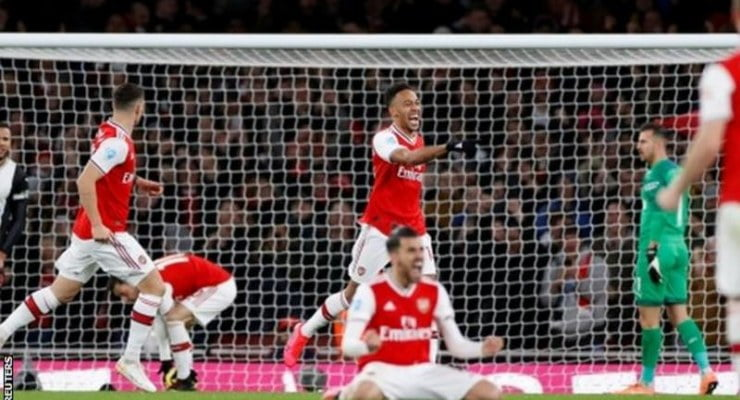 Arsenal up to 10th with win over Newscastle