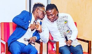 Shatta Wale, Stonebwoy cause confusion on Twitter after Charterhouse jab