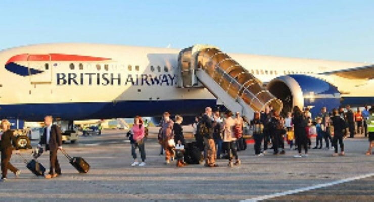 Coronavirus British nationals stuck in Accra after UK evacuation flight made to return