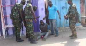 Indisciplined traders incur military wrath in Kumasi