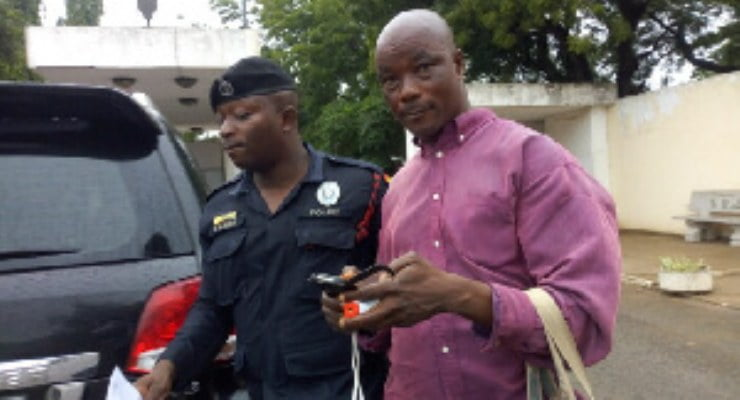 Minister causes arrest of alleged fraudster in Parliament
