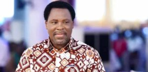 TB Joshua drops first prophecy after his return from the Mountains