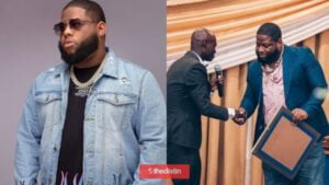 D-Black Jabs Critics As He The Defends 'Fake UN Award' | See His Reaction