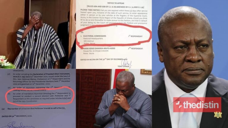 NDC Makes Fatal Errors In Their Petition To The Supreme Court That'll Cost Them Dearly – Photo Details Drop