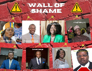 Sam George, other anti-LGBTQ+ MPs 'inducted' onto 'Wall of Shame