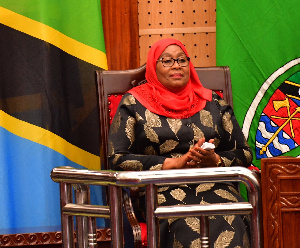 Tanzania's president criticized for calling soccer women 'flat-chests'
