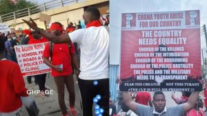 Videos and photos from the ongoing #FixTheCountry demonstration in Accra
