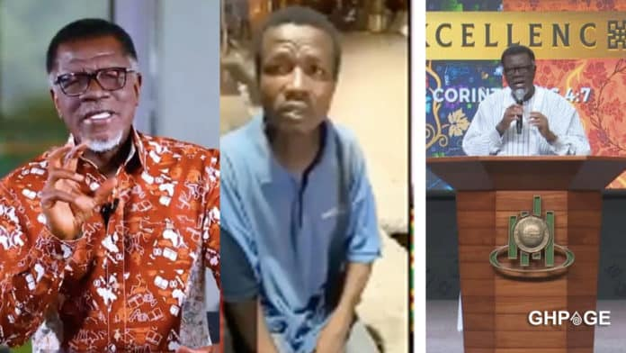 Video: Young 'street' man claiming to be the biological son of Mensa Otabil pops up