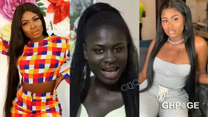 Yaa Jackson heavily descends on troll for reviving skin bleaching rumours with old photo of her