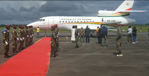 Presidency confirms use of presidential jet by Liberia's George Weah – Report