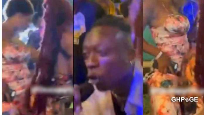 Video: Kofi Jamar performs at an alleged secret lesbian party in Accra