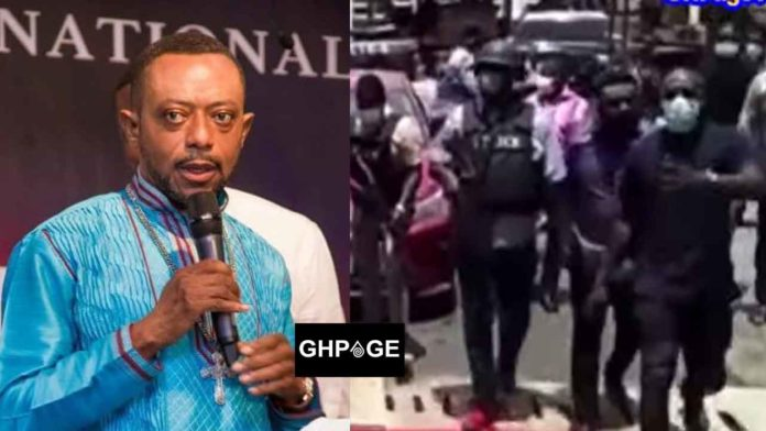 Chaotic scenes when Owusu Bempah and his Jnr pastors arrived in court